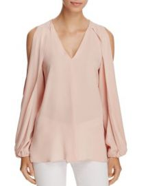 Kobi Halperin Caroline Split Sleeve Blouse at Bloomingdales