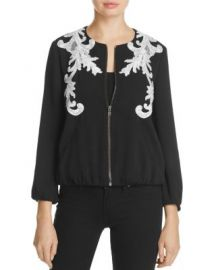 Kobi Halperin Embroidered Bomber Jacket - 100  Exclusive at Bloomingdales