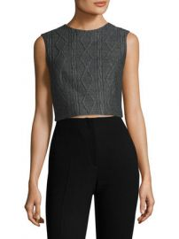 Kylnn Cable Knit Dart Top by Alice   Olivia at Gilt at Gilt