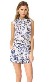 L  039 AGENCE Behati Sleeveless Romper at Shopbop
