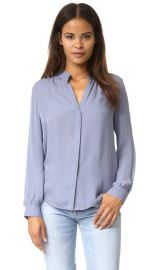 L  039 AGENCE Bianca Blouse at Shopbop