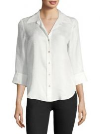 L AGENCE - Marianne Silk Blouse at Saks Fifth Avenue