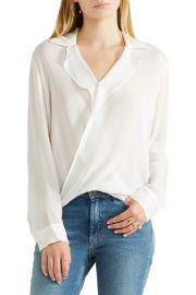 L Agence Rita wrap-effect silk-chiffon blouse at Net A Porter