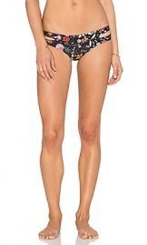 L SPACE Estella Liberty Love Bikini Bottom in Black from Revolve com at Revolve