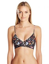 L Space Women  39 s Chloe Wrap Liberty Love Bikini Top at Amazon