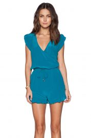 LA Made Alex Romper at Revolve
