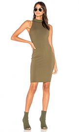 LA Made Suzie Dress in Olive Night from Revolve com at Revolve