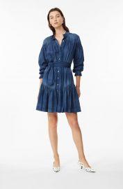 LA VIE TISSUE DENIM DRESS at Rebecca Taylor