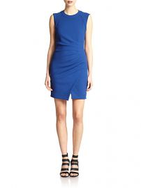 LAGENCE - Asymmetrical Ruched Stretch Jersey Dress at Saks Fifth Avenue