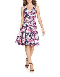 LAUREN Ralph Lauren Floral Neoprene Dress at Lord & Taylor