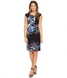 LAUREN Ralph Lauren Koriza Patras Floral Dress at Zappos