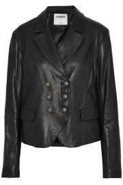 LAgence Leather Jacket at The Outnet