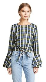 LIKELY Plaid Talcott Top at Shopbop
