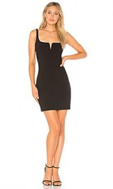 LIKELY Constance Mini Dress in Black from Revolve com at Revolve