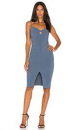 LIKELY Denlan Dress in Steel Blue from Revolve com at Revolve