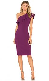 LIKELY Wilshire Dress in Electric Plum from Revolve com at Revolve