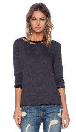 LNA Evan Long Sleeve in Stormy  REVOLVE at Revolve