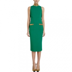 LWren Scott Beaded Accent Sheath Dress at Barneys