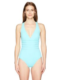 La Blanca Women s Island Goddess Multi Strap Cross-Back Mio One Piece Swimsuit at Amazon