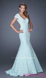 La Femme 20117 Gown in Light Mint at Prom Girl