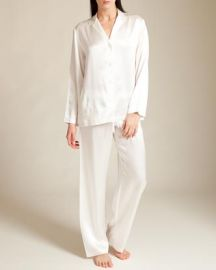 La Perla Ivory Seta Pajamas at Nancy Meyer