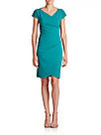 La Petite Robe di Chiara Boni - Ruched Cap-Sleeve Sheath at Saks Fifth Avenue