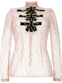 Lace Blouse by Philosophy Di Lorenzo Serafini at Farfetch