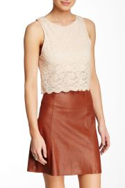 Lace Crop Tank at Nordstrom Rack