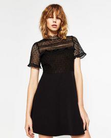 Lace Dress at Zara