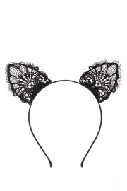 Lace Ears Headband at Forever 21
