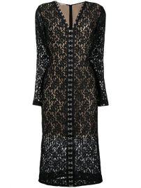 Lace Fitted Midi Dress  Stella McCartney at Farfetch