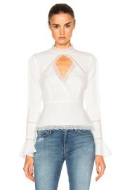 Lace Insert Top by Nicholas at Forward