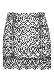Lace Mono Skirt at Topshop