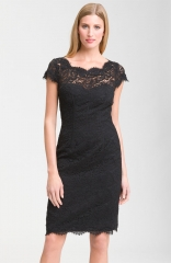 Lace Overlay Dress by Monique Lhuillier at Nordstrom