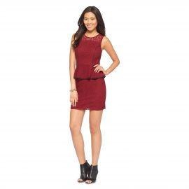 Lace Peplum Dress at Target