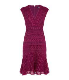 Lace Peplum Dress Karen Millen at Karen Millen