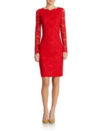 Lace Sheath Dress at Lord & Taylor