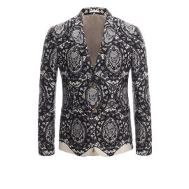 Lace Skull Jacket at Alexander McQueen
