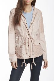 Lace Trim Field Jacket at Nordstrom Rack