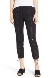 Lace-Up Crop Sweatpants by Pam Gela at Nordstrom Rack