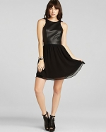 Lace back dress by BCBGeneration at Bloomingdales