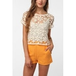 Lace crop top from Urban Outfitters at Urban Outfitters