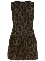 Lace drop waist dress at Dorothy Perkins