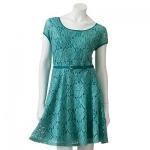 Lace fit and flare dress by LC Lauren Conrad at Kohls