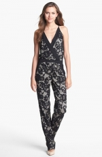 Lace jumpsuit by DvF at Nordstrom at Nordstrom