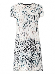 Lace paint jacquard dress at Matches