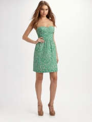 Lace print dress by Rebecca Taylor at Saks Fifth Avenue