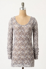 Lace tee at Anthropologie at Anthropologie