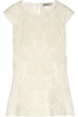 Lace top by Nina Ricci at Net A Porter