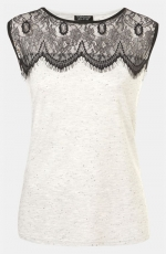 Lace top from Nordstrom at Nordstrom